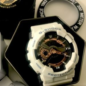 Casion gshock White